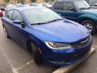 2015 Chrysler 200 S   **10 YEAR 150,000 MILE LIMITED
