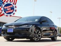 2015 Chrysler 200 Black Clearcoat 9-Speed 948TE