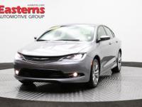 Options:  2015 Chrysler 200 S|Gray|2015 Chrysler 200 S