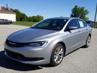 Options:  2015 Chrysler 200 S|Gray|Priced Below Kbb