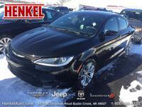 Options:  2015 Chrysler 200 S|Black|New Arrival* Hurry