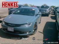 Options:  2015 Chrysler 200 S|Ceramic Blue