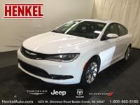 Options:  2015 Chrysler 200 S|Bright White