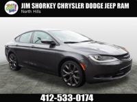 Recent Arrival! 2015 Chrysler 200 S Certified. CARFAX