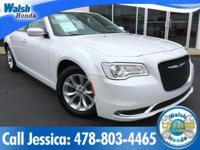 CARFAX One-Owner. Clean CARFAX. White 2015 Chrysler 300