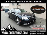 *** LEATHER *** DVD SYSTEM *** HEATED SEATS *** FACTORY