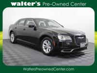 Options:  2015 Chrysler 300 Limited|Black/Black|V6 3.6