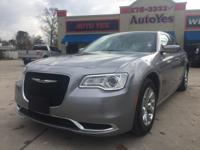 Options:  2015 Chrysler 300 Limited|Silver|Carfax