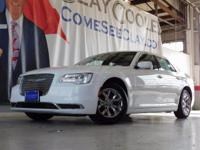 Clean CARFAX. White 2015 Chrysler 300 Limited RWD