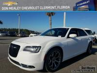 New Price! This 2015 Chrysler 300 S in Bright White
