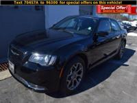 Step into the 2015 Chrysler 300! It prioritizes style,