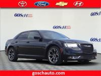 CARFAX One-Owner. Gloss Black 2015 Chrysler 300 S RWD
