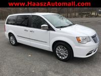 New Price! Bright White Clearcoat 2015 Chrysler Town &