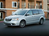 Clean CARFAX. Silver 2015 Chrysler Town & Country