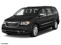 Recent Arrival! 2015 Chrysler Town & Country Touring-L
