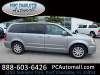 Clean CARFAX. 2015 Chrysler Town & Country Touring FWD
