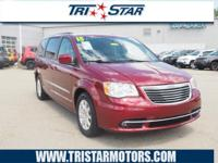 This 2015 Chrysler Town & Country Touring features a