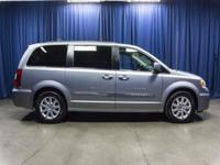 Clean Carfax Two Owner Minivan with Overhead DVD