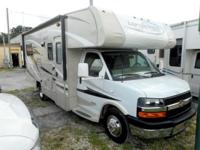 Take a look at this 25' Class C Motor Home with one
