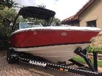 2015 Cobalt 220 bowrider with a custom built magnum