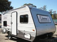 2015 Coleman CTS15BH Bunk House Excellent Condition
