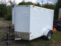 2015 Continental Cargo NS58SA 5x8 Enclosed 5x8 Enclosed