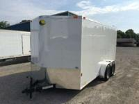 2015 Continental Cargo NS714TA2 7x14 Enclosed Trailer