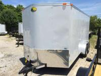 2015 Continental Cargo NS716TA2 7x16 Enclosed Trailer