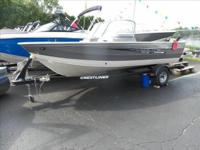 2015 Crestliner 1600 The most versatile fishing boat on