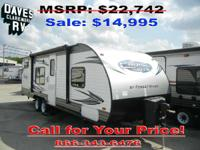 2015 Cruise Lite 261BH BUNKHOUSE w/POWER PACKAGE the
