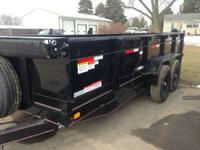 "2015 Diamond C 82"" X 16' - 14 900# Dump Trailer"