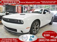 This Incredible White 2015 Dodge Challenger RT Plus