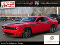 Options:  2015 Dodge Challenger R/T Plus|Red/Black|V8