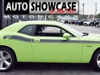 This 2015 Dodge Challenger R/T features a 5.7L 8