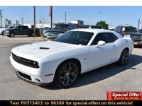Dodge Certified. PRICE DROP FROM $29,991. R/T Plus