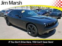 Challenger R/T, 2015 one-owner car with a clean Carfax!