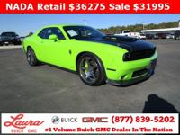 Recent Trade! ONE OWNER. R/T Scat Pack 6.4 V8 Hemi RWD.