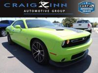 PREMIUM & KEY FEATURES ON THIS 2015 Dodge Challenger