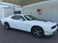 Climb inside the 2015 Dodge Challenger! The safety you
