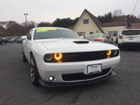 Leather Seats. Challenger SRT8 392, 2D Coupe, SRT HEMI