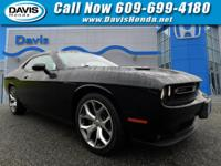 CARFAX One-Owner. Pitch Black Clearcoat 2015 Dodge