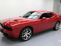 2015 Dodge Challenger with 3.6L V6 Engine,Leather