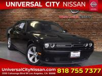 Black 2015 Dodge Challenger SXT 2D Coupe RWD 8-Speed