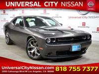 Gray 2015 Dodge Challenger SXT 2D Coupe RWD 8-Speed
