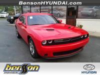 ONE OWNER. Challenger SE, 2D Coupe, and 3.6L V6 24V