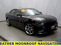 2015 Dodge Charger Phantom Black Tri-Coat Pearl R/T RWD
