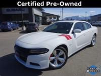 Options:  2015 Dodge Charger R/T|White|Carfax