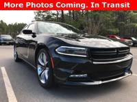 Options:  2015 Dodge Charger R/T|Black|4D Sedan|Hemi