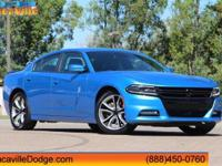 2015 Dodge Charger BlueCARFAX One-Owner. Odometer is