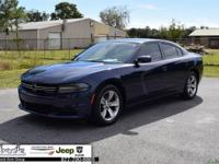 Blue Pearl 2015 Dodge Charger SE RWD 8-Speed Automatic